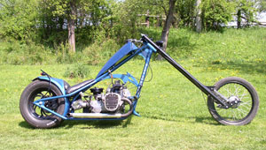 """Blue Shotgun"" – Dněpr K750"