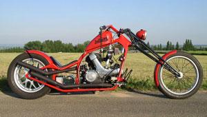 """Indiana"" – Ducati 650"