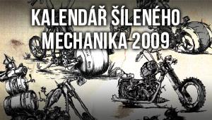 Kalendář šíleného mechanika 2009